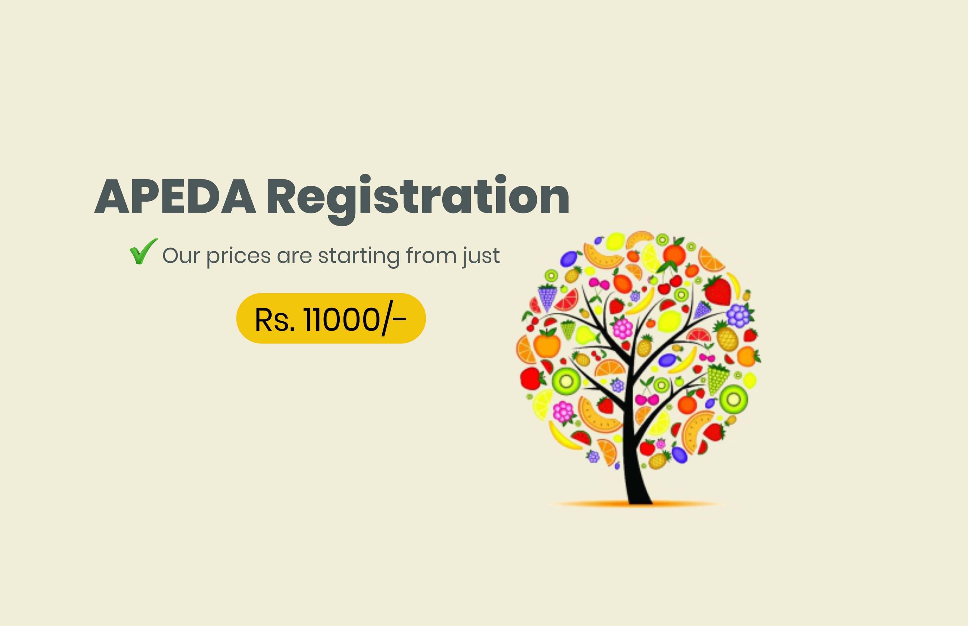 Apeda Registration india