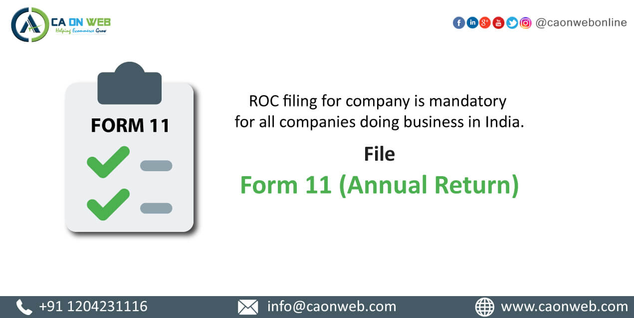 Annual-Filing in india