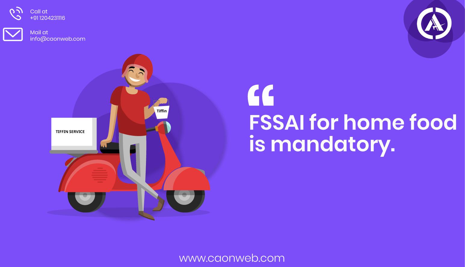 Fssai registration services in Delhi