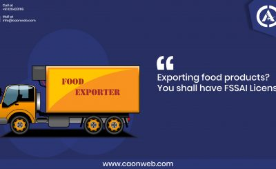 export food license India