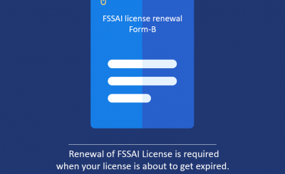 Renewal Of Fssai License