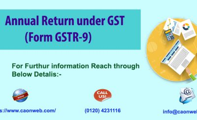 Annual Return under GST (Form GSTR-9)