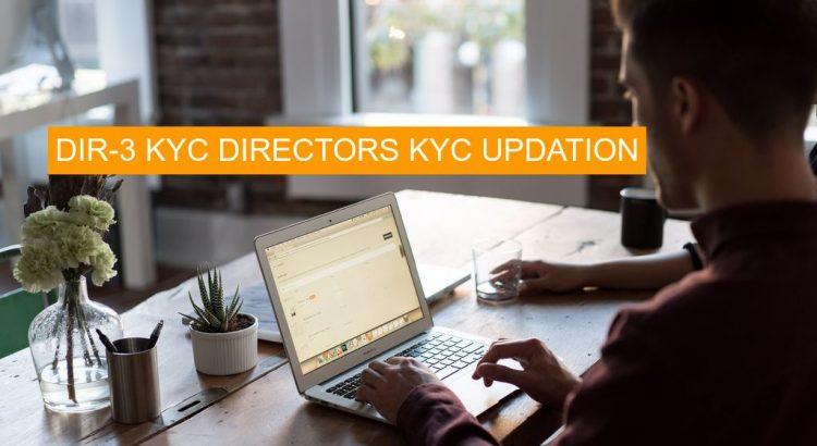 director 3 kyc