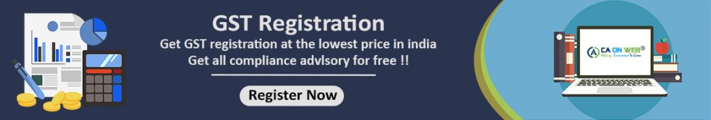 How to get the online gst registration certificate in India?