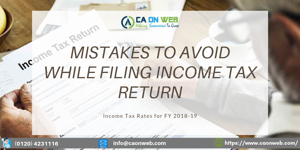 File Income Tax Return Form