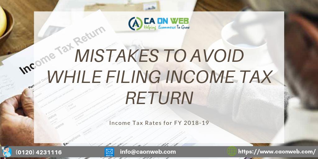 File Income Tax Return Form