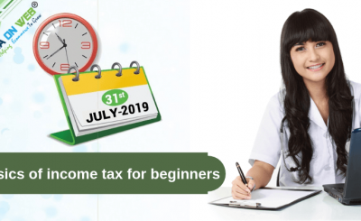 Basics of income tax for beginners