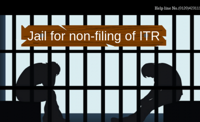 Jail for non-filing of ITR