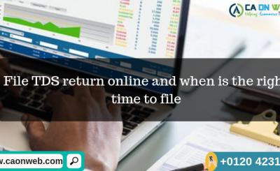 file TDS return online