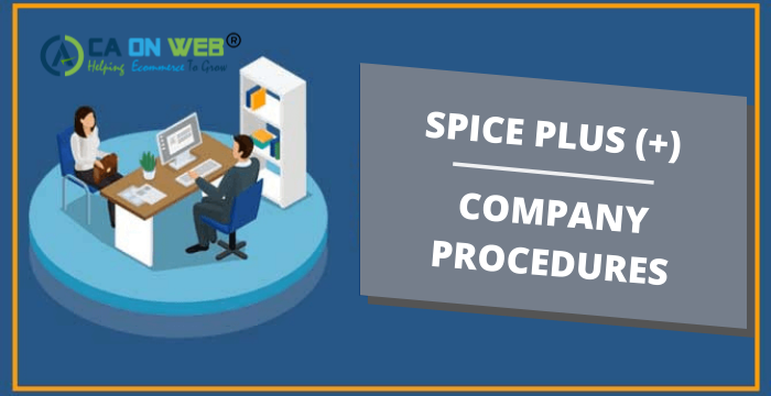 SPICE PLUS COMPANY rEGISTRATION
