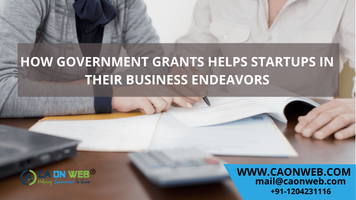 HOW GOVERNMENT GRANTS HELPS STARTUPS IN THEIR BUSINESS ENDEAVORS