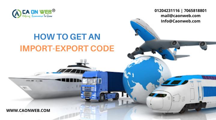 IMPORT-EXPORT CODE